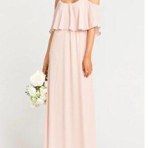 Show Me Your Mumu Caitlin Cold Shoulder Maxi Dress